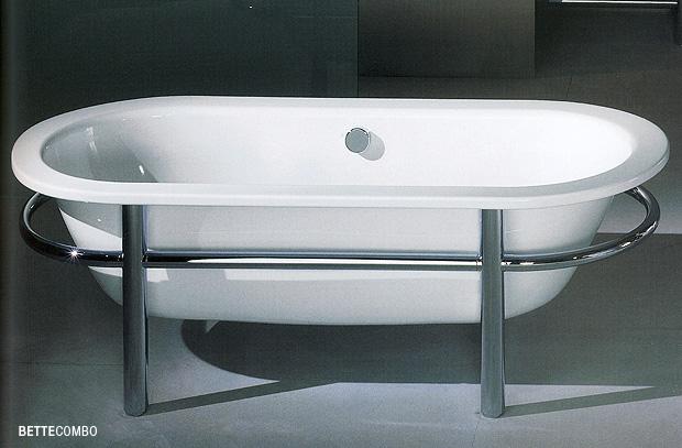 Vasche e piatti doccia in acciaio … ritorno al passato o ...