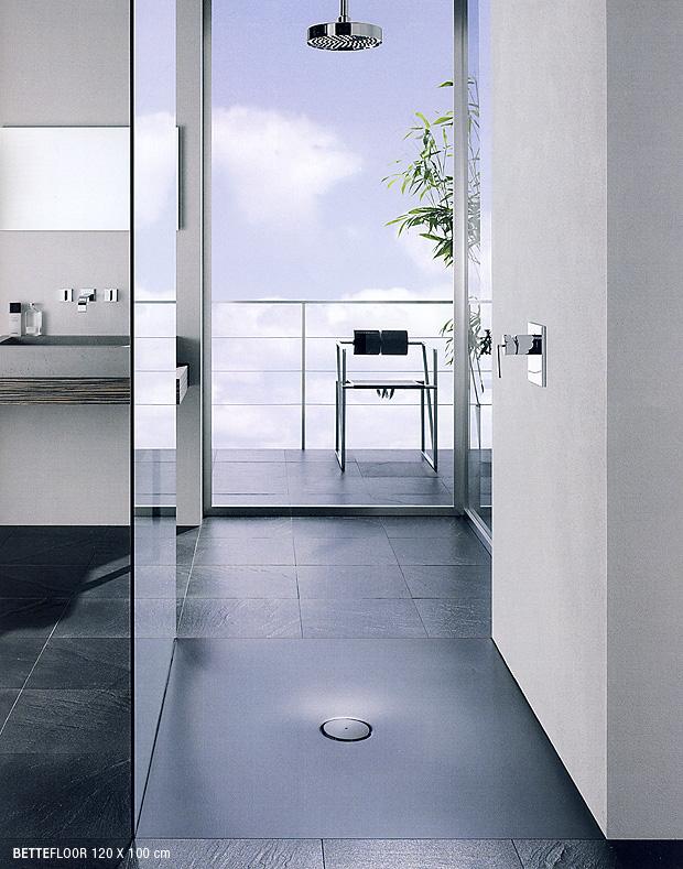Vasche e piatti doccia in acciaio ritorno al passato o - Posa piatto doccia prima o dopo piastrelle ...