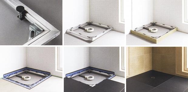 Bettefloor il piatto doccia a filo pavimento sintesibagnoblog - Posare un piatto doccia ...