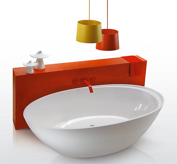 disegno da vasche bagno Piccole : ... da bagno Simas in CrystalTech?. Il design ? garantito dalla firma di