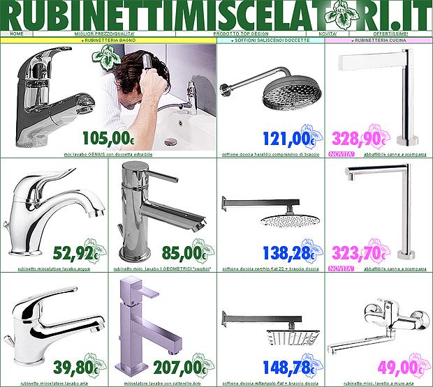 rubinetteria: rubinetti miscelatori, bagno e cucina ? una vetrina ... - Miscelatori Cucina Prezzi
