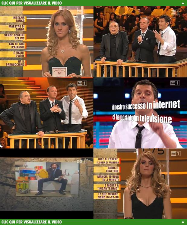 SINTESI BAGNO partecipazione ai Soliti Ignoti condotto da Fabrizio Frizzi trasmissione del 22 maggio 2010