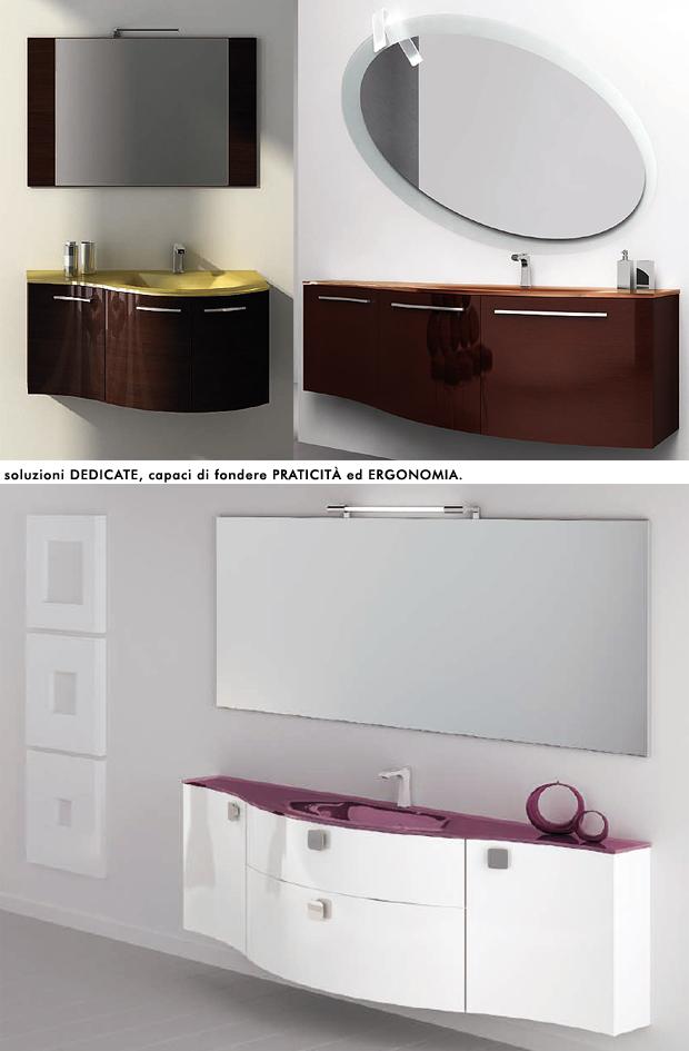 Mobili punto tre incontro tra tecnologia e design - Mobili sospesi per bagno ...