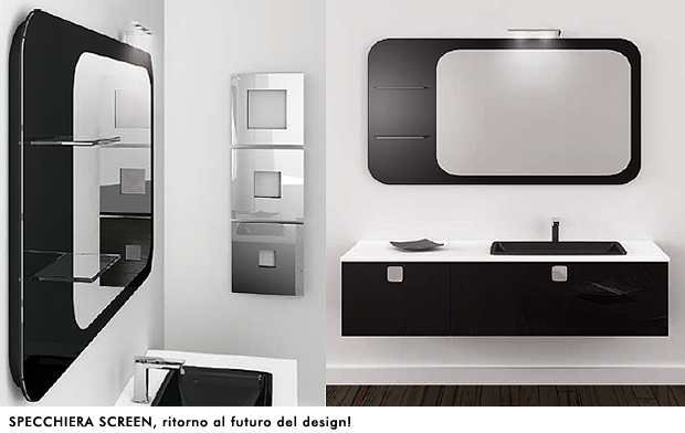 Mobili da bagno puntotre punto d incontro tra tecnologia e design sintesibagnoblog - Misure specchio bagno ...