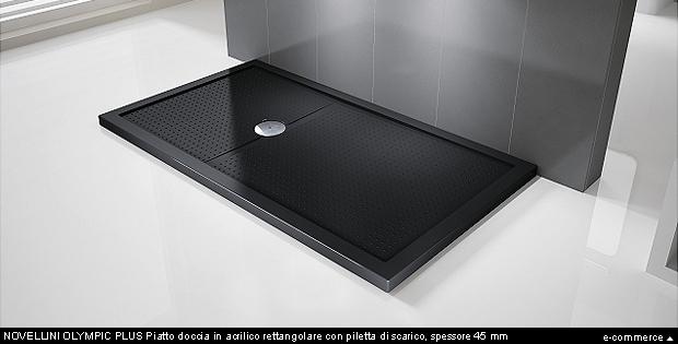 Grandi dimensioni per i piatti doccia arredobagno news - Piatto doccia piccole dimensioni ...