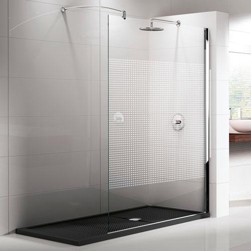 Soluzioni con pareti doccia in cristallo e piatti doccia for Cabine doccia prezzi leroy merlin