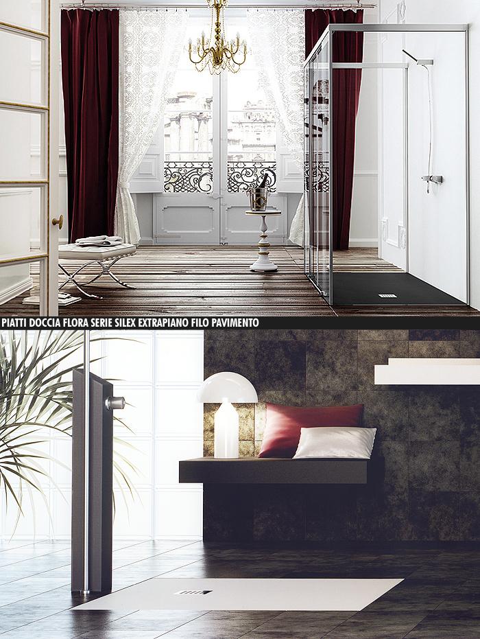 piatti-doccia-flora-serie-silex-extrapiano-filo-pavimento