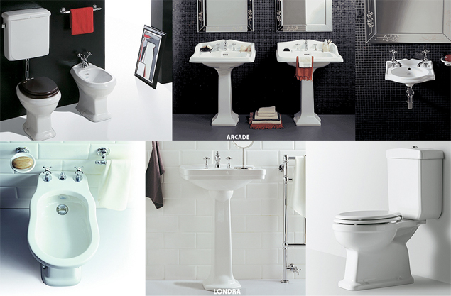 Come arredare il bagno in stile CLASSICO/RETRO con ...