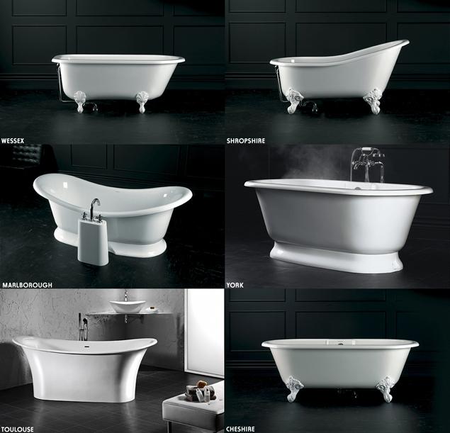 Come arredare il bagno in stile classico retro 39 con prodotti di assoluta qualit sintesibagnoblog - Vasche da bagno retro ...