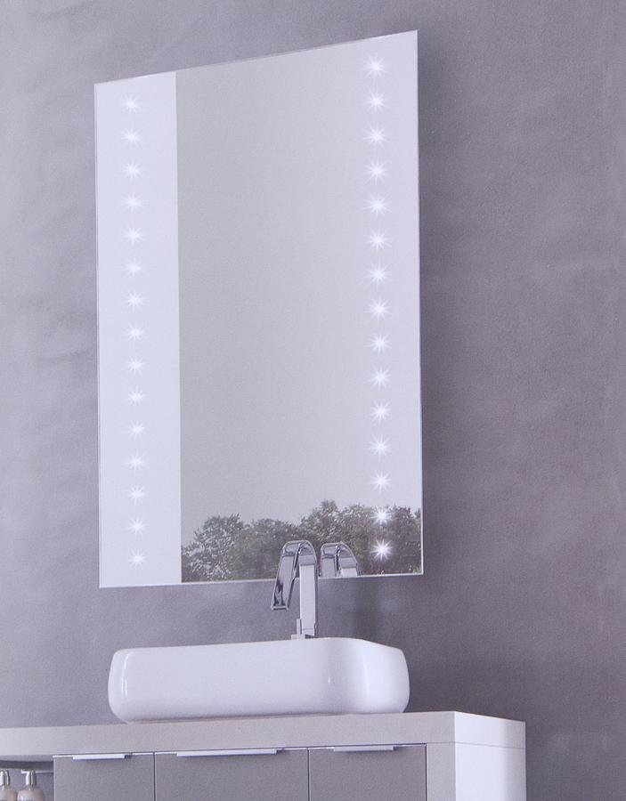 Specchiere da bagno illuminate a luci led sintesibagnoblog - Luci led per bagno ...