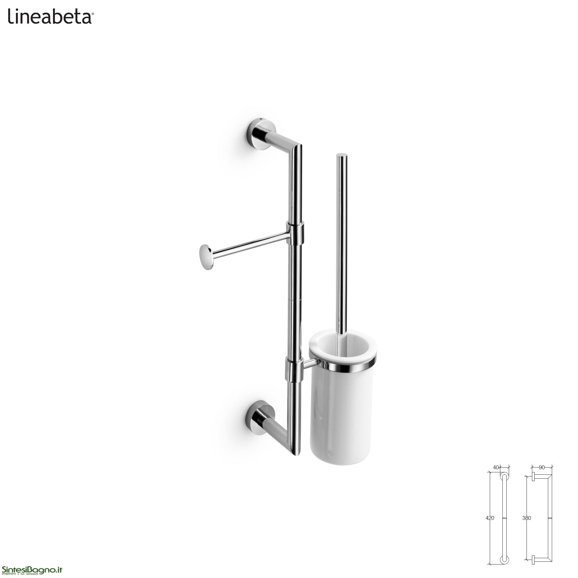 barre attrezzabili per accessori arredobagno: baketo ... - Lineabeta Arredo Bagno