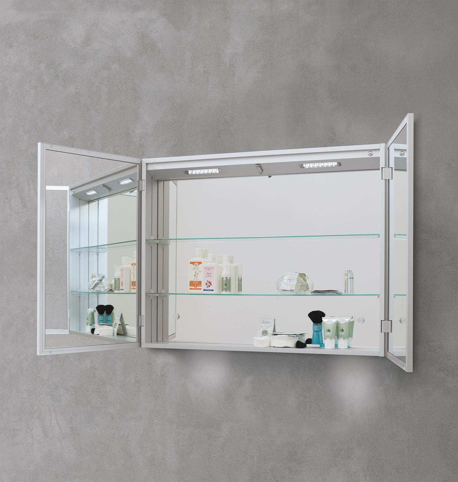 Specchiere bagno contenitore sintesibagnoblog - Specchi bagno con contenitore ...