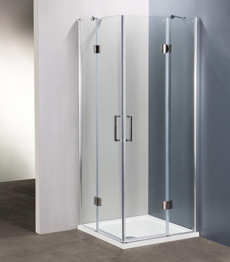 innovazione e qualità per i box doccia ercos: linea platinum