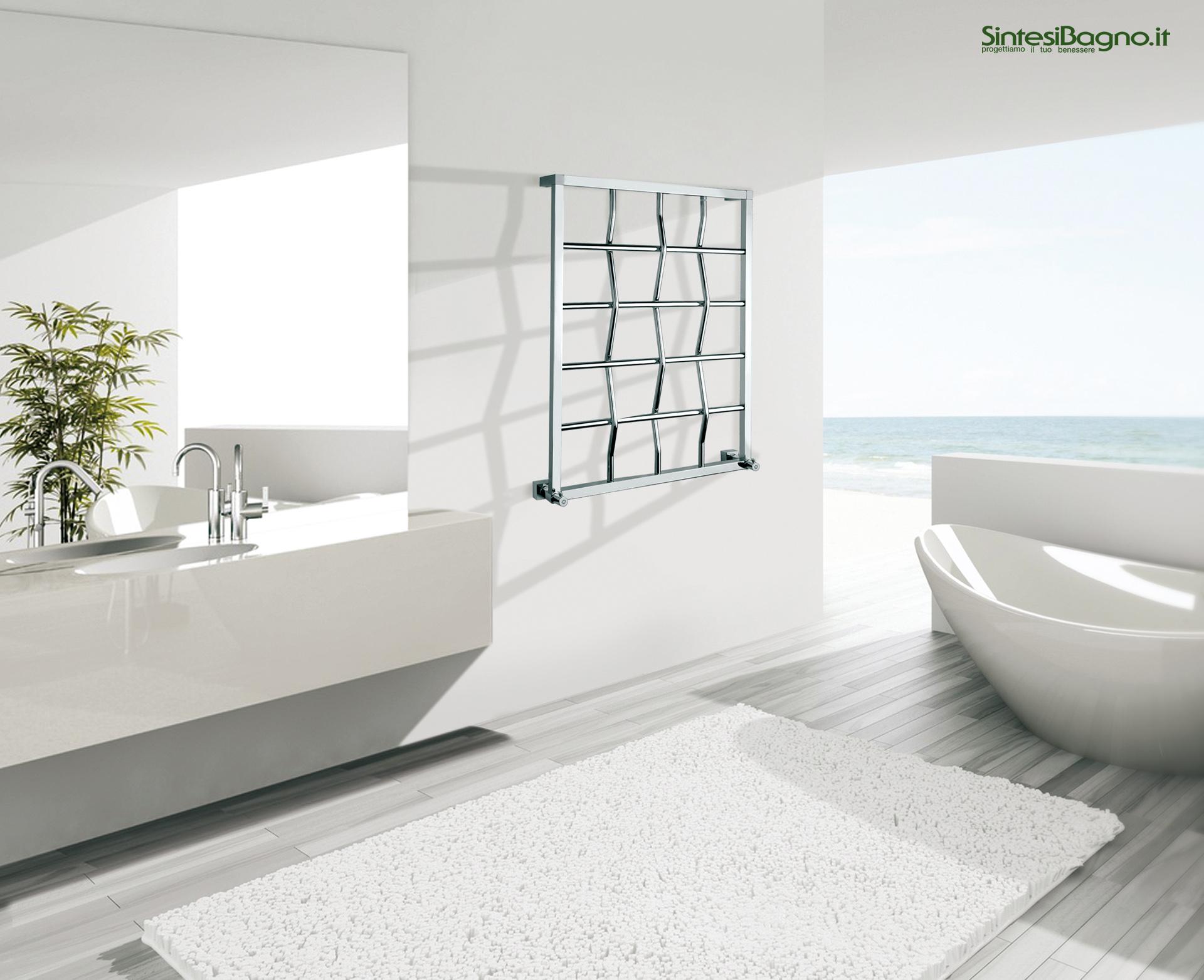 Margaroli serie quadri scaldasalviette ad acqua ed - Quadri in bagno ...
