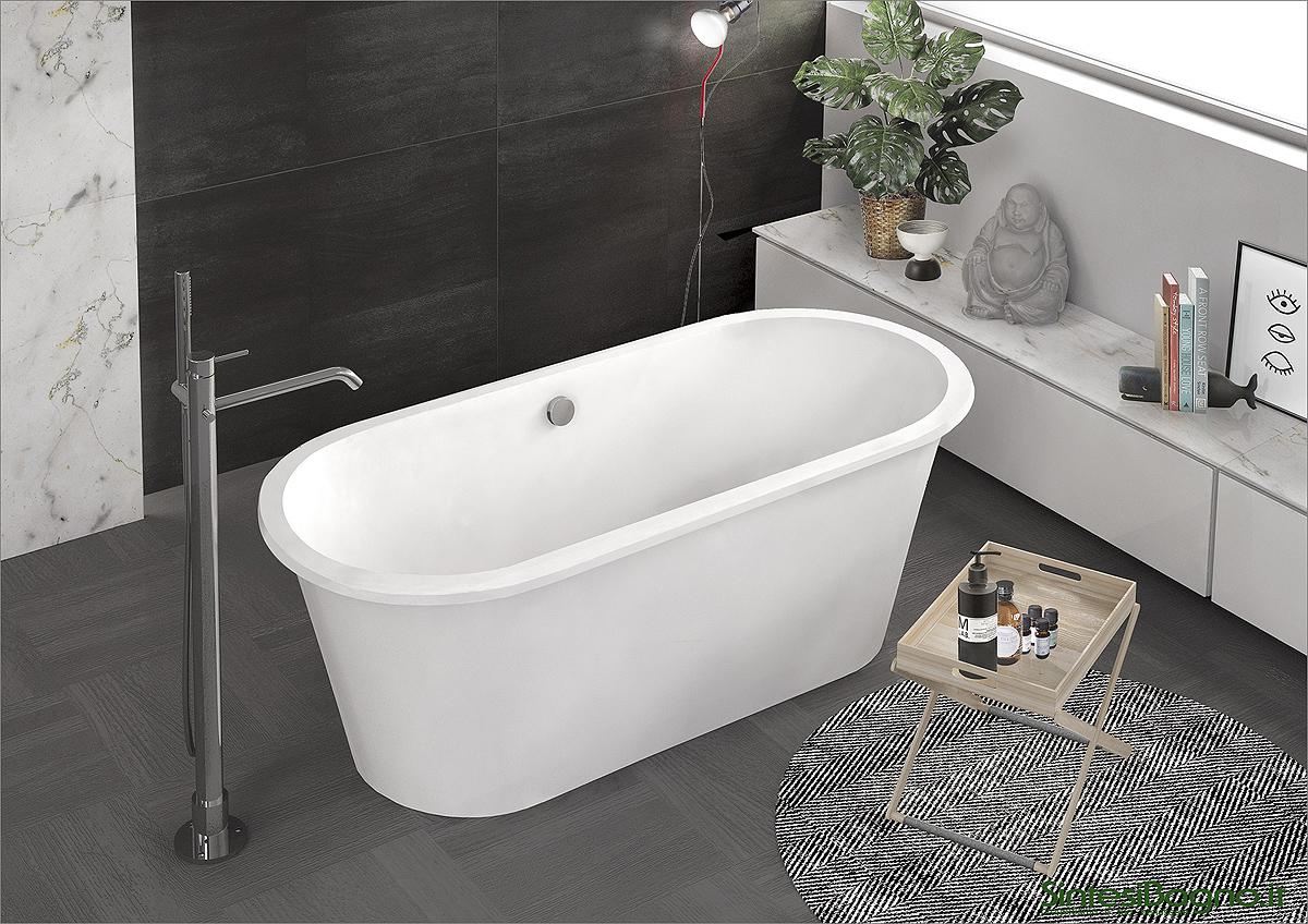 Catalogo mondo vasca ponsi vasche da bagno in marmoresina - Vasca da bagno profonda ...